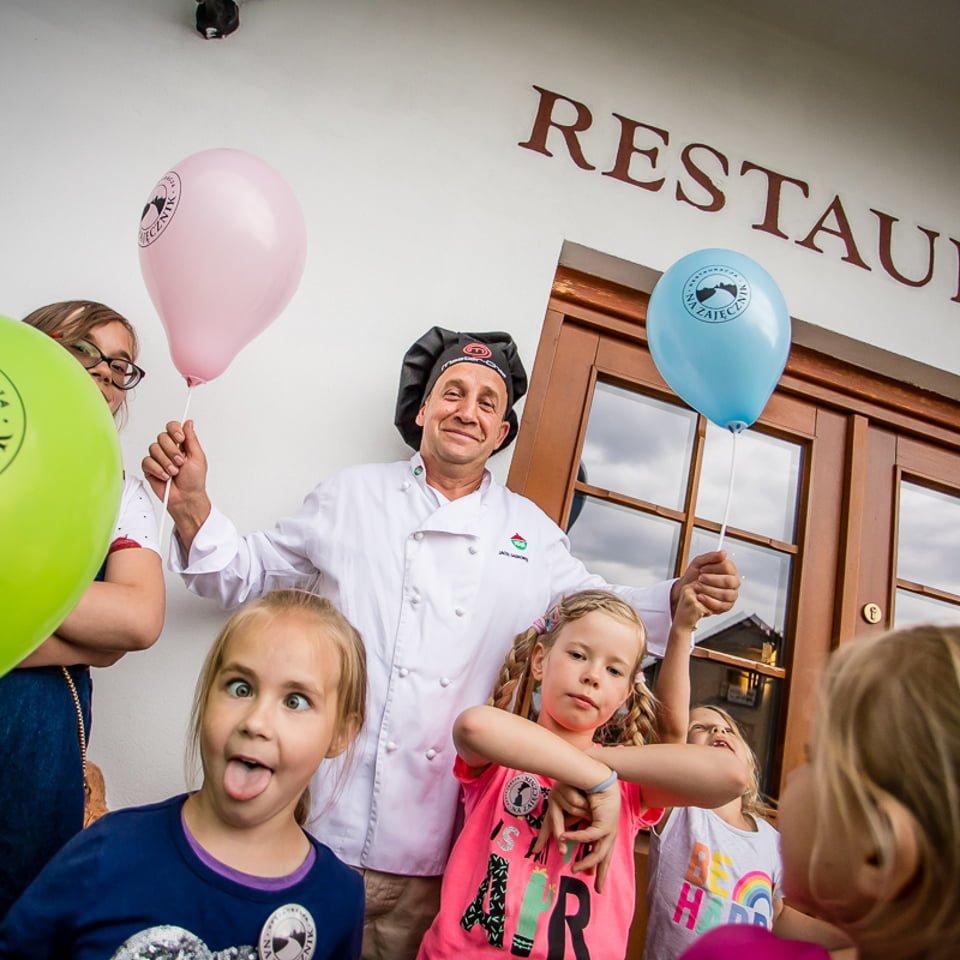 degustacja karty dziecięcej w restauracji na zajęcznik