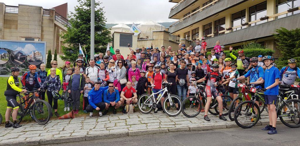 rajd rowerowy 120 osób