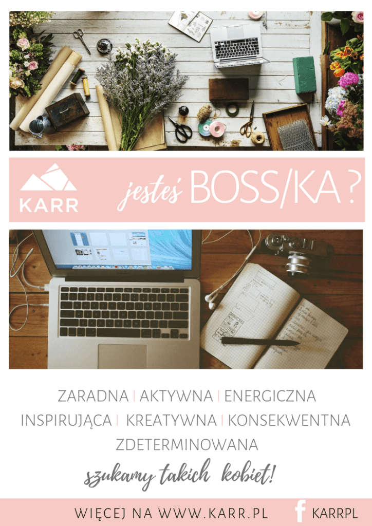 jesteś boss/ka