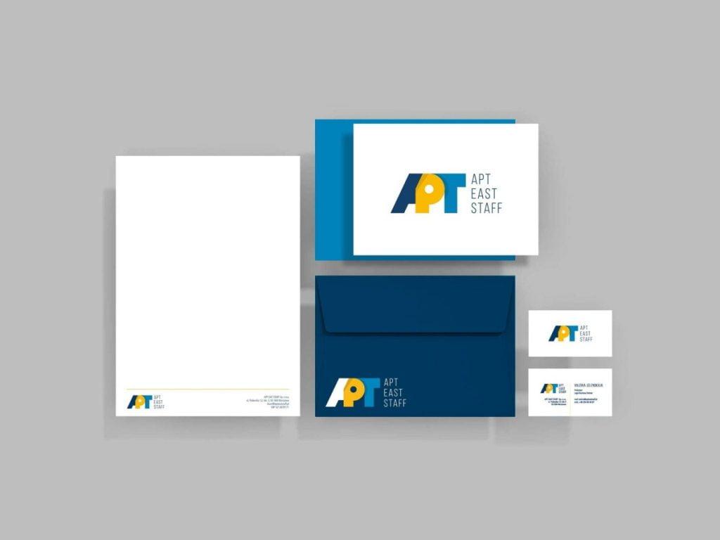 wizualizacja logo i materiałów drukowanych